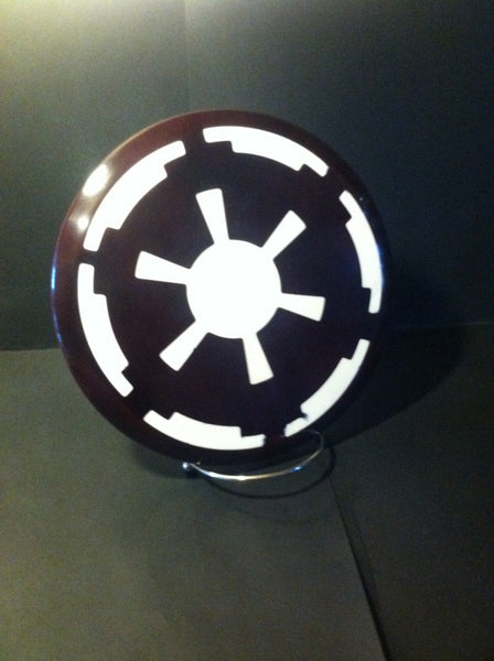 Custom Dyed Disc For Disc Golf Star Wars Imperial