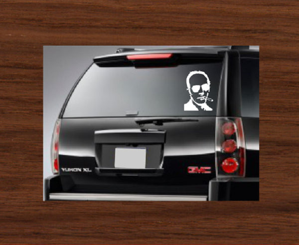 Hunter S Thompson Car Decal