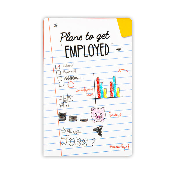 Unemployed Notebook - MadCap - For the Imperfect You !