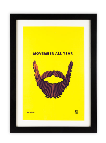 Movember Poster - MadCapPage