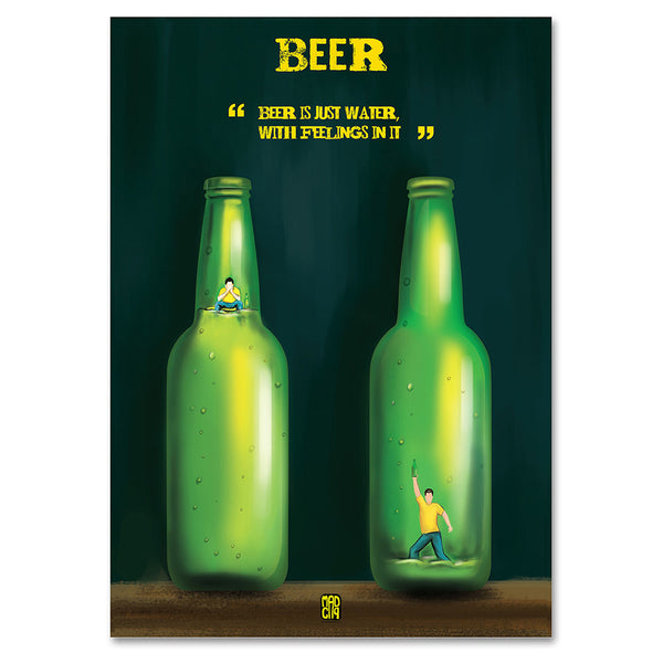 Beer Poster - MadCap - For the Imperfect You !