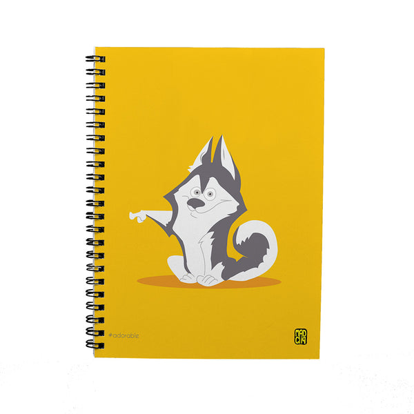 Adorable Spiral Notebook - MadCap - For the Imperfect You !