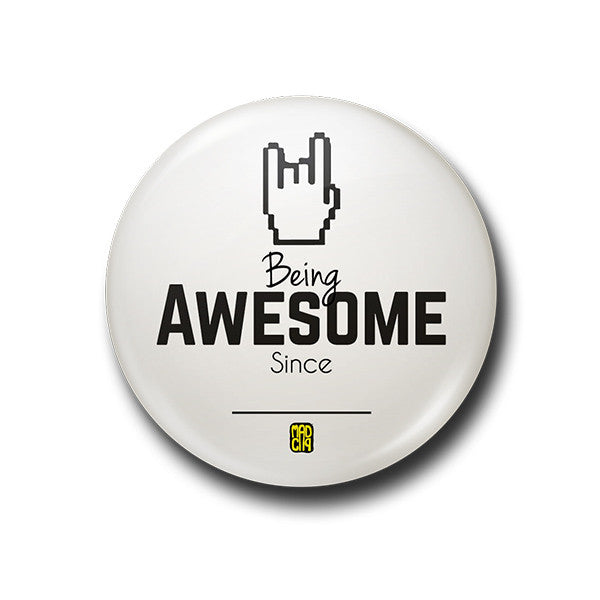 Being Awesome Badge