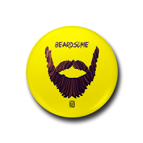 Beardsome Badge - MadCap - For the Imperfect You !