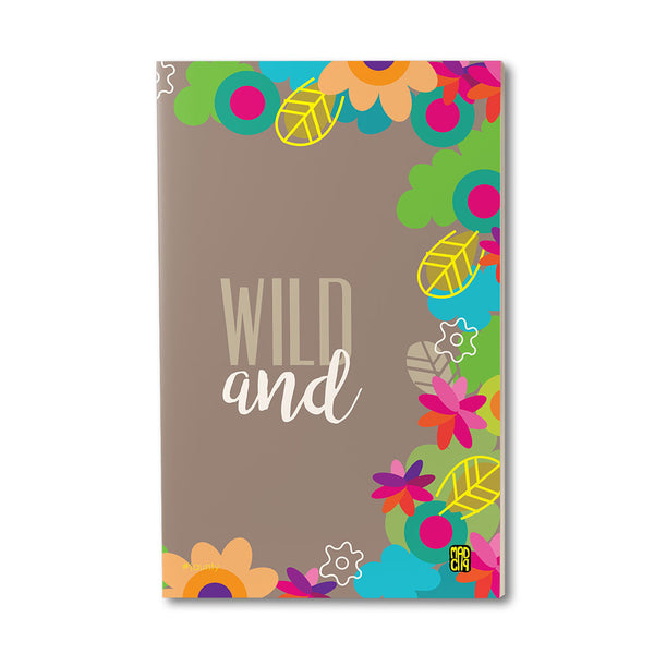 Jaunty Jot Notebook - MadCap - For the Imperfect You !