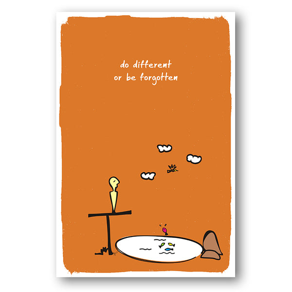 Do Different -  Poster - MadCap - For the Imperfect You !