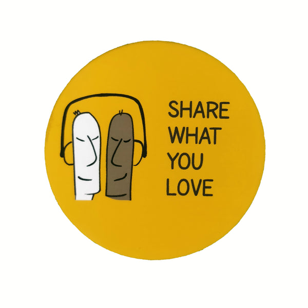 Share what you Love - Badge - MadCap - For the Imperfect You !