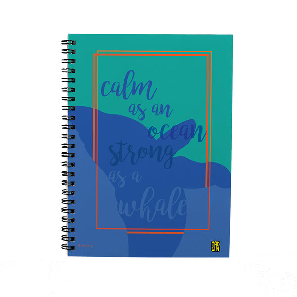 Strong Spiral Notebook - MadCap - For the Imperfect You !