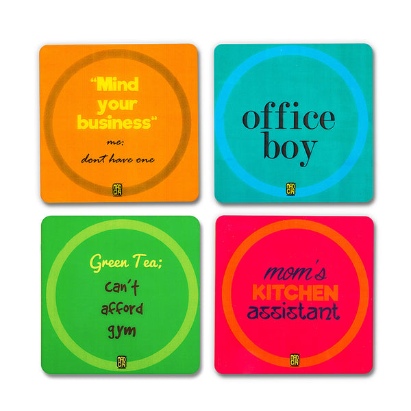 Unemployed Coasters - MadCap - For the Imperfect You !