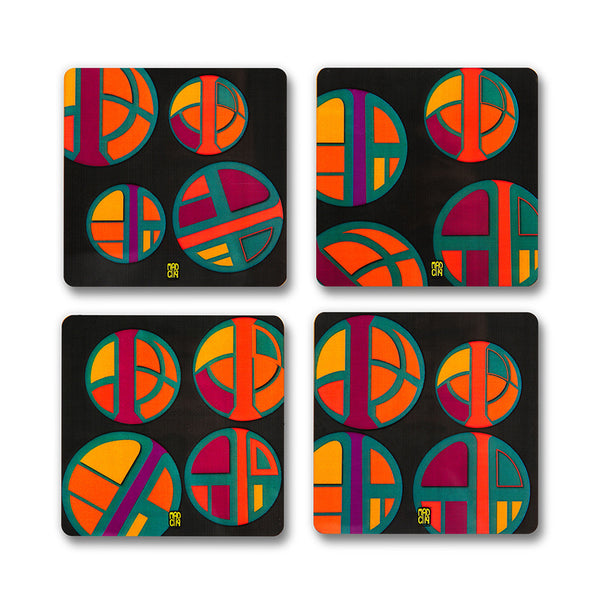 Vibrance Coasters - MadCap - For the Imperfect You !