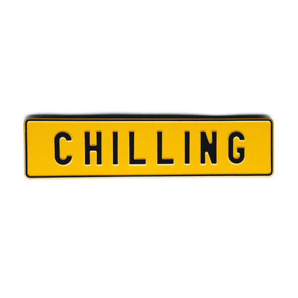 CHILLING - Attitude Plates - MadCap - For the Imperfect You !