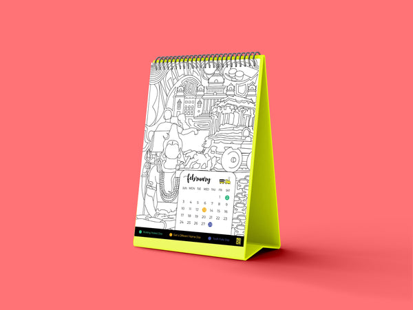Colander - The Coloring Calendar - MadCapPage