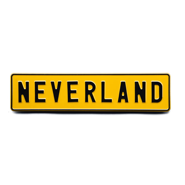 NEVERLAND - Attitude Plates - MadCap - For the Imperfect You !