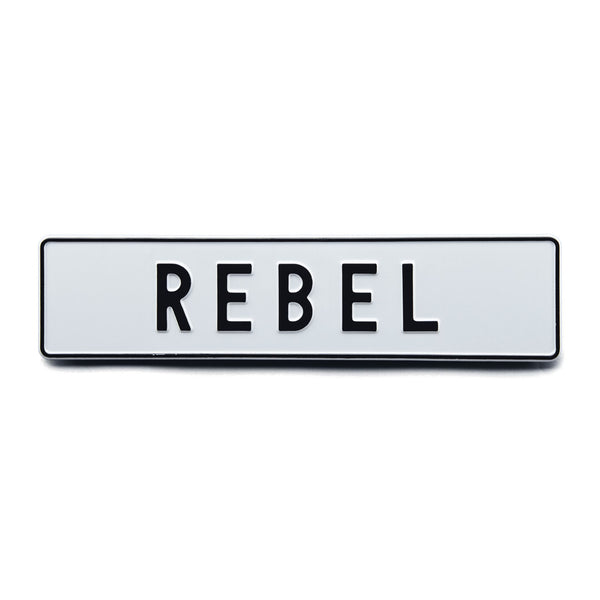 REBEL - Attitude Plates - MadCap - For the Imperfect You !