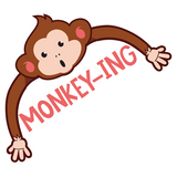 Monkey-ing Sticker - MadCapPage
