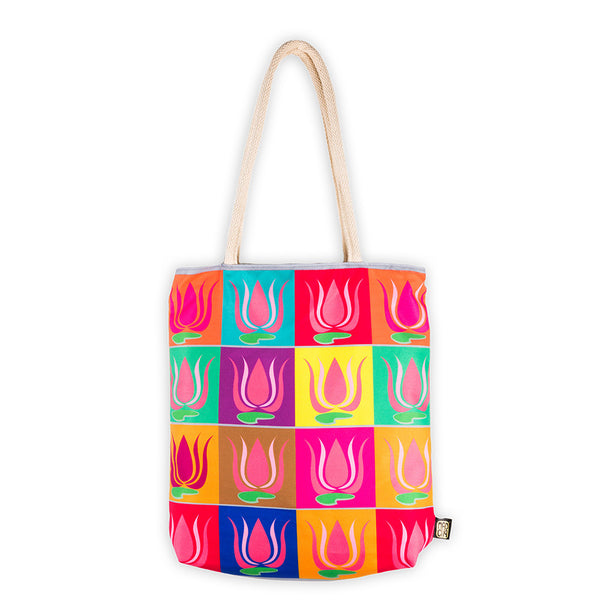 Traditional Tote Bag - MadCap - For the Imperfect You !