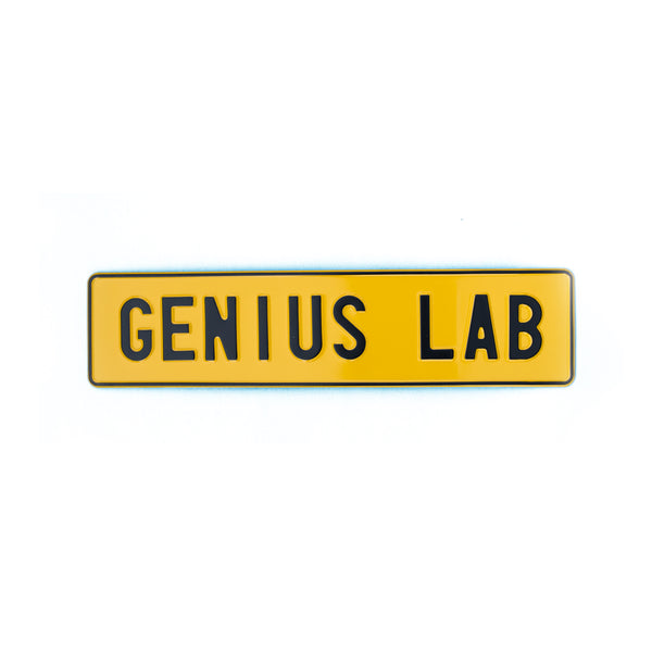 GENIUS LAB - Attitude Plates - MadCap - For the Imperfect You !