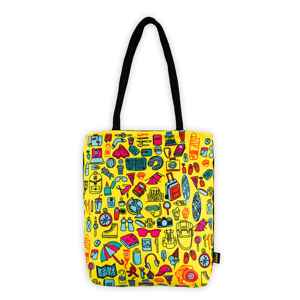 Wanderlust Tote Bag - MadCap - For the Imperfect You !