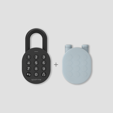 Smart Padlock & Protective Silicone Case Bundle