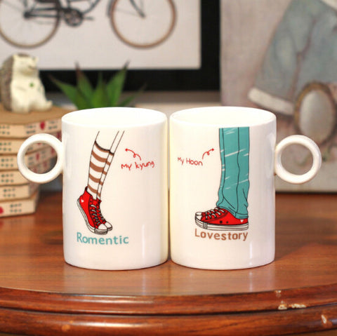 HeartToHeart Edition - Romantic You and Me Coffee Mug-Innodie-Innodie