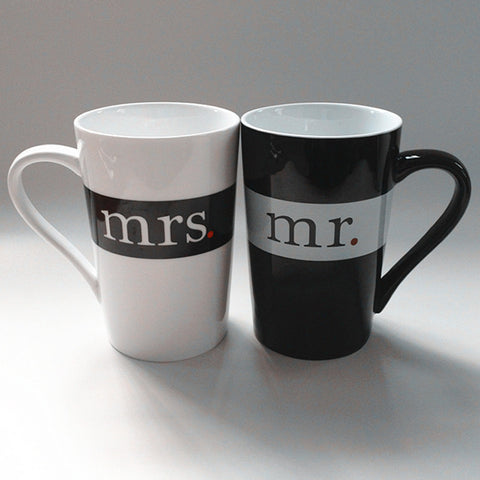 HeartToHeart Edition - Mr. and Mrs. Creative Coffee Mug-Innodie-A-200ml-Innodie