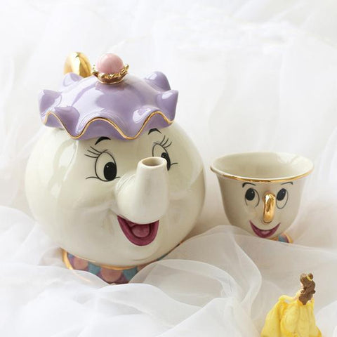 Youth Edition - Mrs Potts and Chip Tea Set-Innodie-Innodie