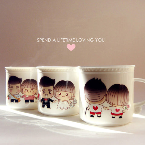 HeartToHeart Edition - Always Together Creative Coffee/Tea Mug/Cup-Innodie-Innodie