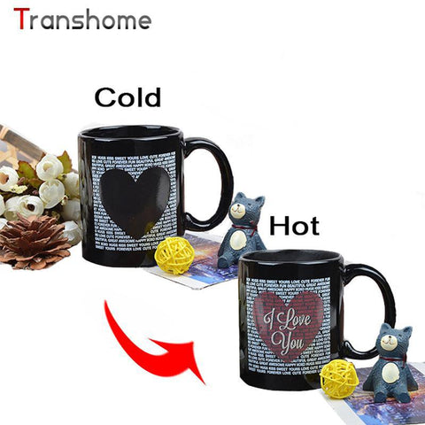 HeartToHeart Edition - Colour Changing Love Coffee Mug Cup-Innodie-Innodie