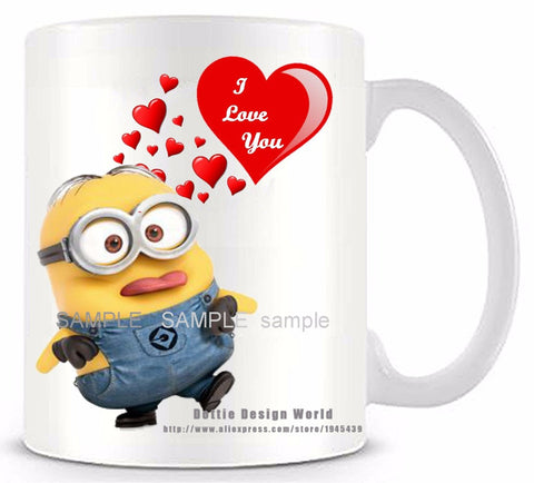 HeartToHeart Edition - The Minion Proposal Coffee Mug-Innodie-Innodie