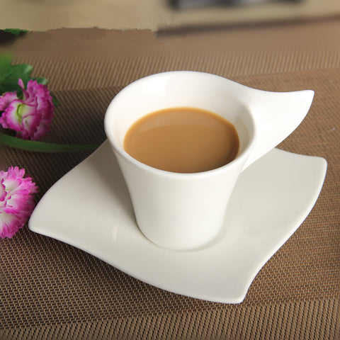 Creative Edition - Leaf Handle Tea Cup-Innodie-Innodie