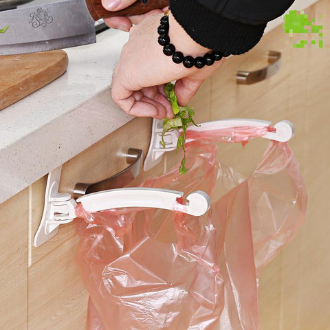 2 Pcs/set Creative Door Hook Hanger Disposable Bag Holder-Kitchen Gadgets-Innodie-Innodie