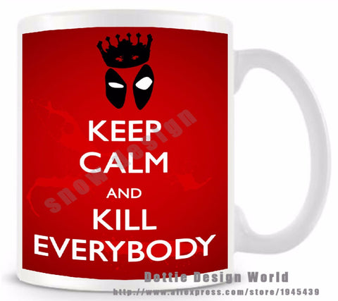 Youth Edition - Deadpool Quotes Coffee Mug-Innodie-Innodie