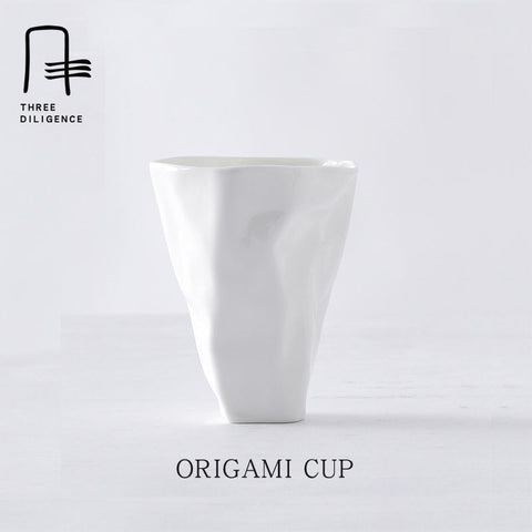 Creative Edition - English Origami Tea/Coffee Cup-Innodie-Innodie