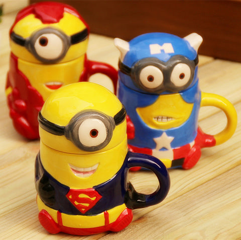 Youth Edition - Minions Marvel Superhero Coffee Mug-Innodie-Innodie