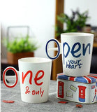 HearthToHearth Edition - Love and Smile Brew Mug 2pcs-Innodie-OPEN-Innodie