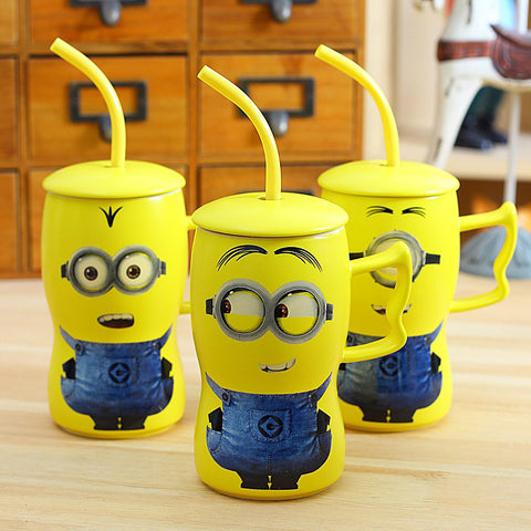 Youth Edition - New Design Creative Cute Minions Coffee Mug-Innodie-Innodie