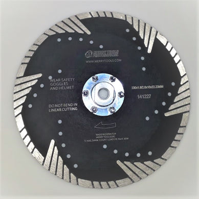 141227 Professional Diamond Cutting grinding Blade Hot Pressed W/F 230mm