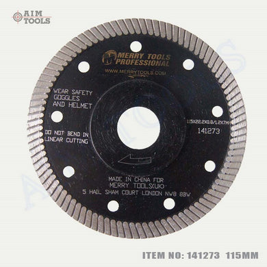 141273 Diamond Disc Turbo 115M 8M Segmnt