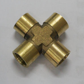 SP230436 Brass 4 Exits Female Threaded Fitting