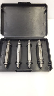 Scerw driver extractor 4 pcs set.