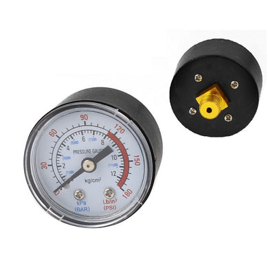 SP230826B Air Pressure Gauge - Back