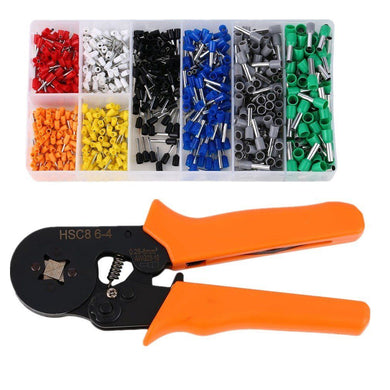 416500 Ratchet Crimping Pliers Kit 800Pc