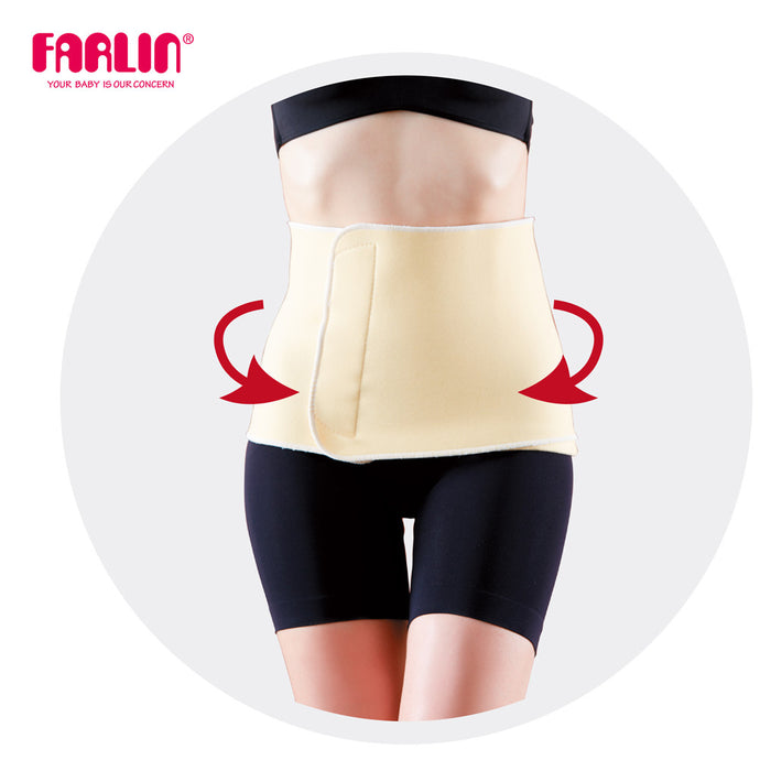 Farlin Breathable postnatal reshaping abdominal Girdle Belt (Small 36