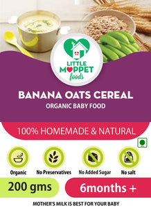 Banana Oats Cereal