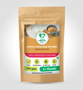 Little Moppet Foods Instant Soya Rice Porridge Powder (200 gm)