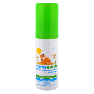 Mamaearth Mineral based Sunscreen for babies (0-5 Yrs) - 100ml