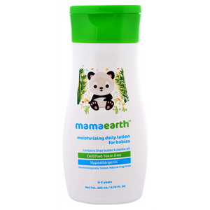 Mamaearth Daily Moisturizing Lotion for babies (0-5 Yrs) - 200ml