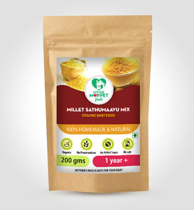 Little Moppet Foods Millet Sathumaavu Mix (200 gm)