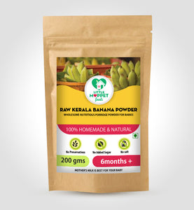 Raw Kerala Banana Powder (Age 6months+)