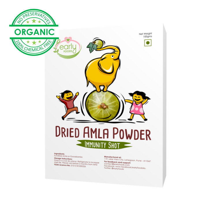 Sun-dried Amla Powder 100g